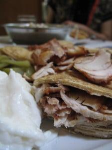 Shawarma in Old Damascus