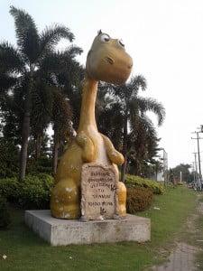 Finally found a Khon Kaen dinosaur!