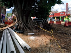 Porfirio Diaz construction